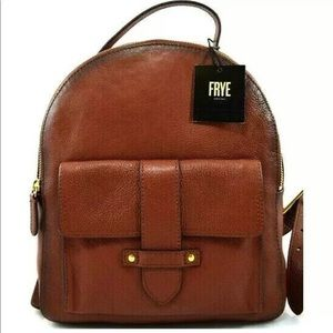 Frye olivia Mini Leather Backpack purses